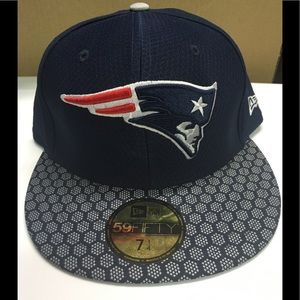 New England patriots new era fitted hat